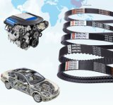 V-Belt com nervuras 6pk da auto borracha do OEM para o Benz