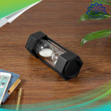 Altavoz sin hilos estéreo del temporizador de la arena de Sandglass mini con la lámpara del LED