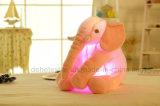 Giften van het Speelgoed van de Pluche van de Gloed van de creatieve Lichte LEIDENE van de Nacht de Gevulde Olifant van Dieren voor de 20-duim van Jonge geitjes