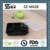 4개의 격실 사치품 PP 처분할 수 있는 플라스틱 음식 저장 상자