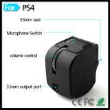Playstation 4のヘッドセットのイヤホーンのリモートゲームのための携帯電話の音量調整器