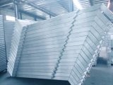 Лестница алюминия лесов