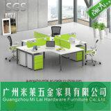 Mobília de escritório do frame de aço da mesa do computador do projeto da forma (ML-11-SZA)