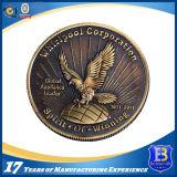 US Militärmetallmünze im Überzug