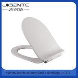 Assento de toalete liso plástico barato da forma Jet-1003 moderna