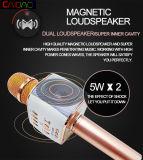 Microfono senza fili tenuto in mano di karaoke di Bluetooth del microfono professionale caldo di vendita