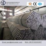 Carbón Q235 S235jo Pre-Galvanizado alrededor del tubo de acero para el edificio de acero