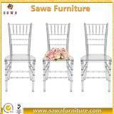 安い結婚式の水晶アクリル樹脂の透過結婚のChiavariの椅子