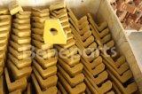 recolocação pesada da máquina do carregador de máquina escavadora dos dentes da cubeta de 61e7-0101 Hyundai