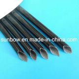 Fibre de verre enduite de température élevée en caoutchouc de silicones gainant pour l'isolation électrique