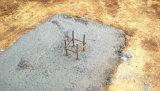 Pianta prefabbricata del gruppo di lavoro di estrazione dell'oro del blocco per grafici d'acciaio