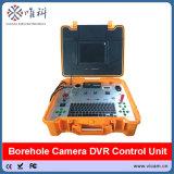 da câmera subaquática do CCTV de 300m/500m câmera submarina da inspeção de Borewell com cabeça de câmera dupla