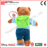 Brinquedos do urso da peluche do luxuoso com um saco