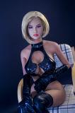 muñeca atractiva realista euro del amor del pecho del 158cm del silicón de la TPE de la muñeca verdadera grande del sexo