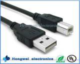 USB 2.0 кабель принтера компьютера выдвижения a к b мыжской