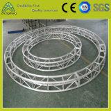 Silbriger komplizierter Zapfen-Schrauben-Quadrat-Kreis-Aluminiumbinder