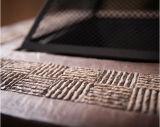 """34 """" 옥외 길쌈된 기본적인 고대 구리 완료 화재 구덩이 테이블"""