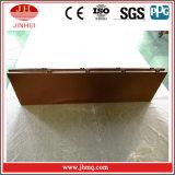 3 couches pulvérisant la façade en aluminium de panneau de Brown pour la décoration de construction