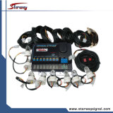 Des 160 Watt-8 Haupthelle Hideaway Installationssätze röhrenblitz-Gefäß-Installationssatz-/Röhrenblitz der Installationssatz-/LED (LTE837)