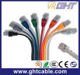 Cabo de correção de programa do cabo da rede de UTP CAT6
