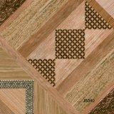 azulejo de suelo esmaltado rústico de 600X600m m con diseño de la inyección de tinta