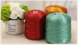 Ms Multicolored Polyester Metallic Thread de Sakura para hacer punto/que teje de la ropa