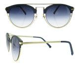 Les lunettes de soleil de la CE UV400 de modèle de l'Italie vendent les lunettes de soleil faites sur commande de femmes de lunettes de soleil