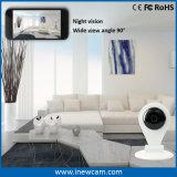 Mini cámara elegante del IP de la seguridad casera 720p WiFi para el cuidado del bebé