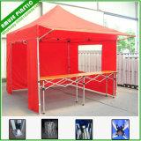 بيضاء زرقاء أحمر 10[إكس]10 ظلة خيمة مع جوانب