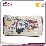 Raccoglitore sveglio di cuoio dell'unità di elaborazione di Fani, borsa di stile del fumetto per le ragazze