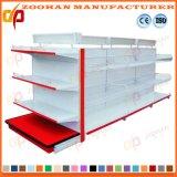 金属のゴンドラの棚付けによってカスタマイズされるスーパーマーケットの表示棚(Zhs177)