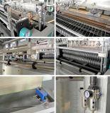 Automatischer Heißsiegelfähigkeit-und Wärme-Ausschnitt Shirt-Beutel, der Maschine herstellt