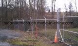 Sicurezza che spolverizza la rete fissa galvanizzata della maglia di collegamento Chain del TUFFO caldo