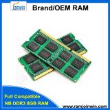 Het Geheugen van de RAM SODIMM van Joinwin PC3-12800 van Shenzhen DDR3 8GB