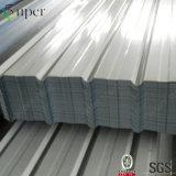 Galvanizado chapas onduladas de techo de acero para Casas prefabricadas