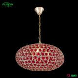 Illuminazione Pendant di cristallo di vendita di progetto contemporaneo caldo dell'hotel