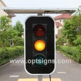 Semáforos solares portables móviles rentables del OEM de Optraffic, semáforos del LED, semáforos