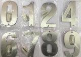 めっきされるOEM ODMの高品質のステンレス鋼のドア番号
