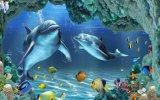 Stampa del mondo 3D del mare di Matrtial della costruzione bella (VPA6A116)