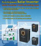 MPPT 태양 충전기 관제사를 가진 1개의 잡종 순수한 사인 파동 태양 변환장치에 대하여 중국 잡종 2