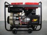 5kw 이동하는 작은 디젤 엔진 발전기