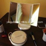 Espejo de escritorio del maquillaje de la alta calidad LED