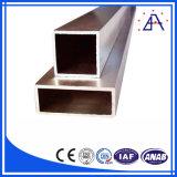 6063-T5粉の上塗を施してある正方形アルミニウム管か長方形アルミニウム管