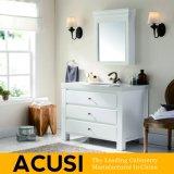 De in het groot Amerikaanse Eenvoudige Ijdelheid van de Badkamers van de Stijl Stevige Houten (ACS1-W17)