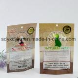 애완 동물 먹이는 개밥을%s 지퍼 Resealable 부대를 가진 위로 포장 비닐 봉투를 서 있다