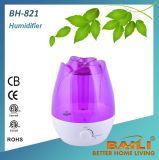 7つのカラーLED夜ライトが付いている高品質の超音波加湿器