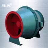 Xlf-5.0f Serie geneigter Fluss-Rohrleitung-Trommel- der Zentrifugeventilator