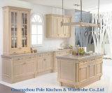 Mélamine, laque à haute brillance, PVC, cuisine en bois solide