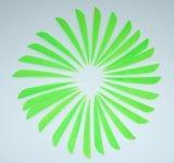 Pena colorida de Parabol do direita de 4 polegadas do tiro ao arco