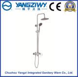 La buena pista de ducha del ahorro del agua de la venta con cromo plateó